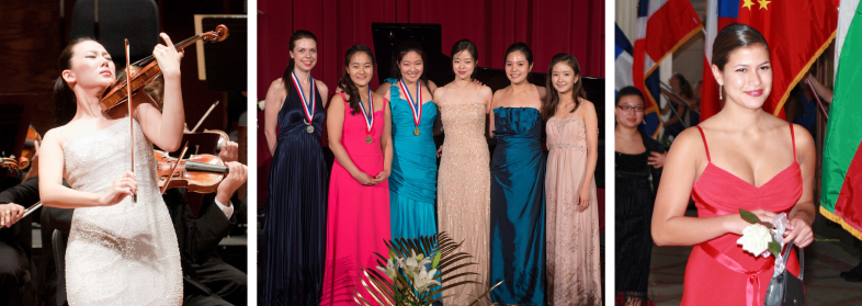 Photo of International Violin Competition competitors